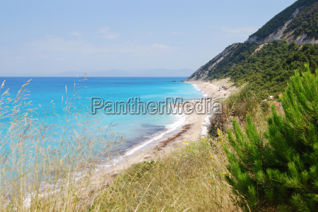 greece, beach, seaside, the beach, seashore, turquoise - 5215923