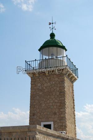 leuchtturm am akrotiri iraio