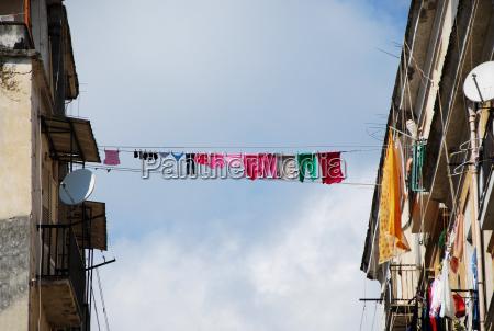 neapolitanisches stadtleben
