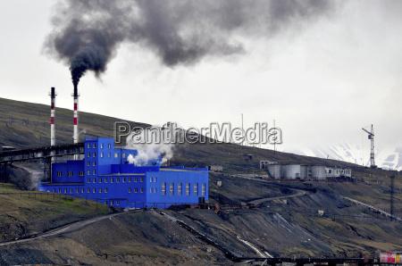 humo fumar azul centrales termicas de