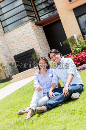 couple looking very happy