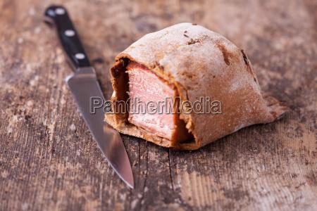 schinken im teig gebacken