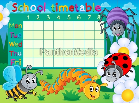 school timetable topic image 6