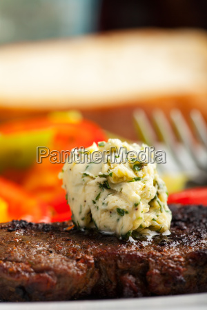 steak mit kraeuterbutter