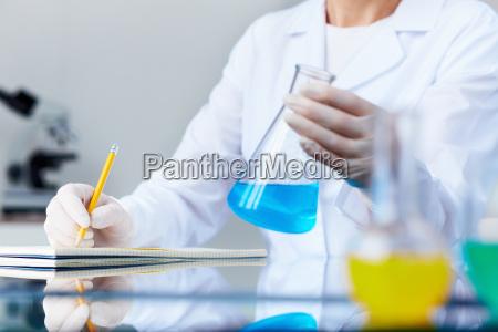 investigating fluid