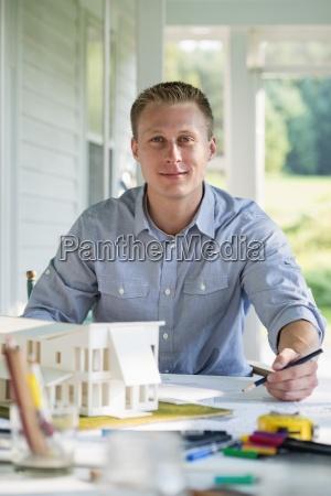 a farmhouse kitchen a model of