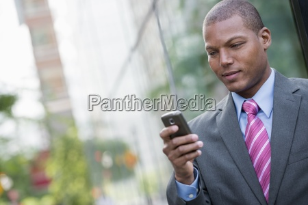 a young man in a business