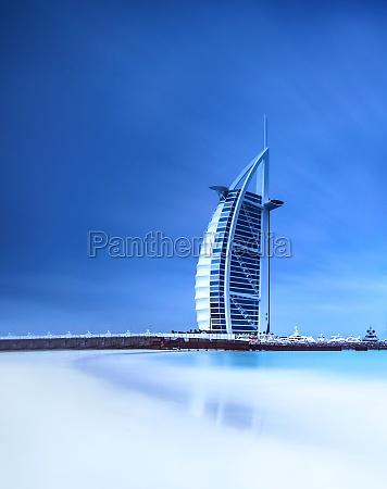 burj al arab hotel on jumeirah