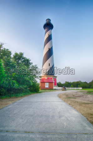 cape hatteras lighthouse outer banks north