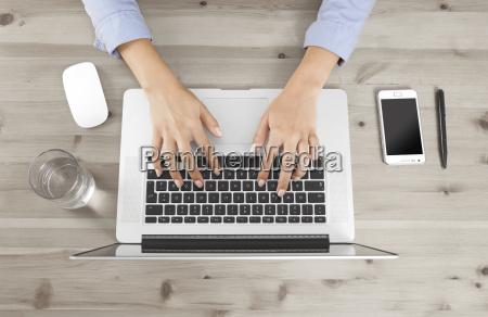 oficina portatil computadoras computadora ordenador mano