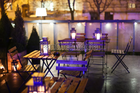 illuminated caffe tables