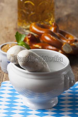 bayerische weisswurst