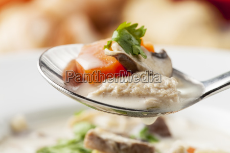 thailaendischetom kha gai suppe
