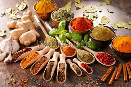 comida especia cocina los cocineros polvo