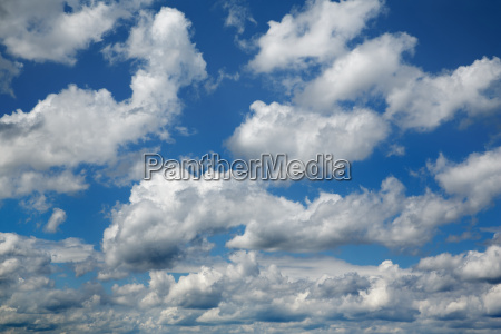 clouds in blue sky starnberger see