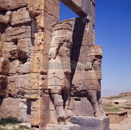 the gateway of xerxes persepolis iran