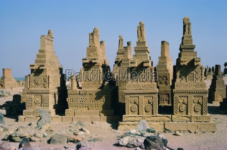 carved sandstone chaukundi tombs 15th 18th