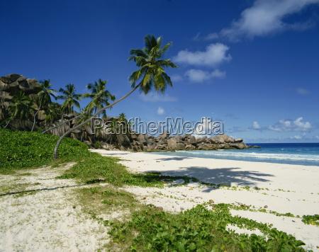 grand anse la digue seychelles indian