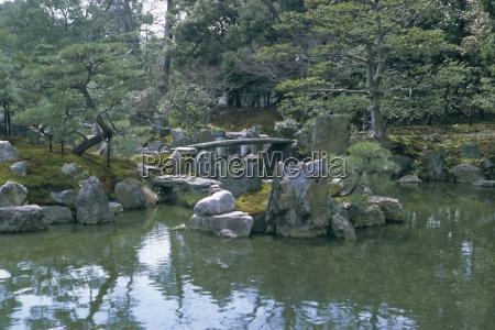 garden nijo castle kyoto japan asia