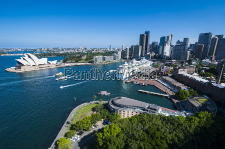 view over sydney new south wales