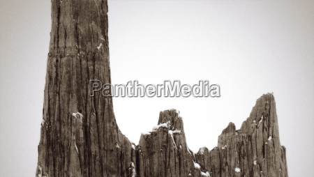 detailed view of rock formations