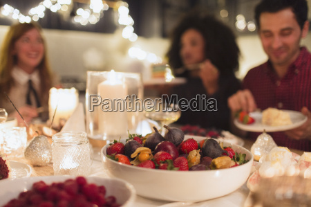 candlelight christmas dinner party