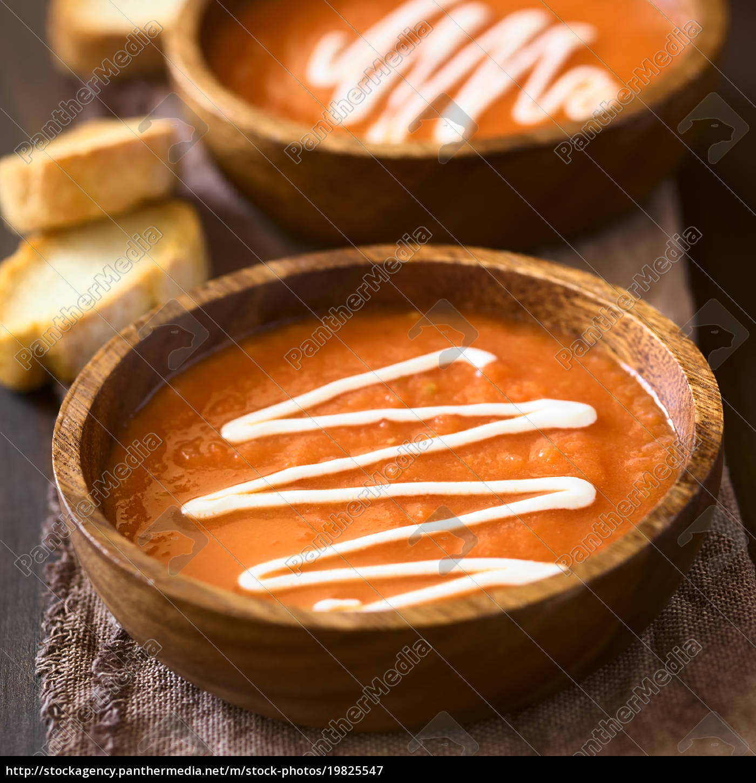cream, of, tomato, soup - 19825547