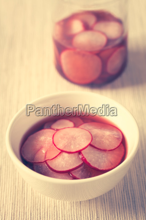pickled, radishes - 19825573