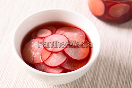 pickled, radishes - 19825575