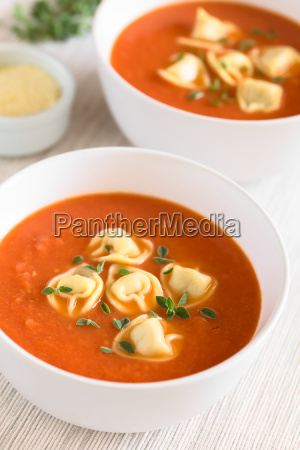 tomato, soup, with, tortellini - 19825493