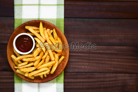 crispy homemade french fries