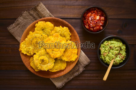 patacon fried plantain slices