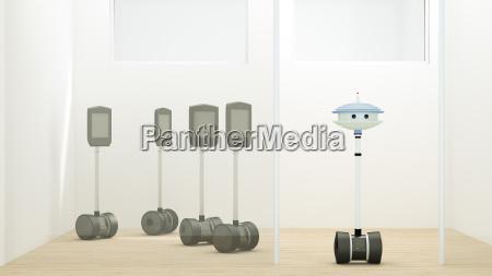 trabajo contraste comunicacion ilustracion futurista conexion