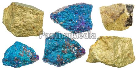 azul objeto close up liberado pedra