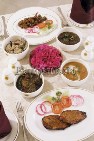 food from the menu usha kiran