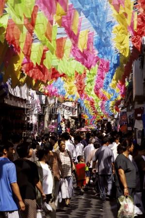 dazhalan jie market beijing china asia