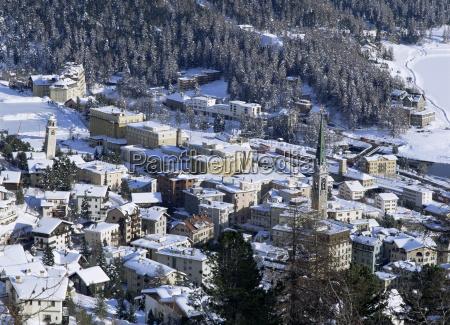 st moritz swiss alps switzerland europe