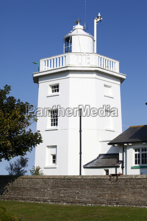 overstrand lighthouse near cromer norfolk england