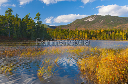 elbow pond baxter state park maine