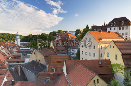 view of meissen saxony germany europe