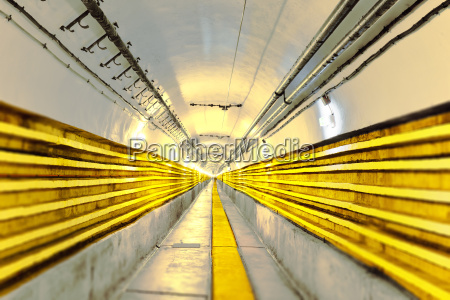 seemingly never ending main tunnel at