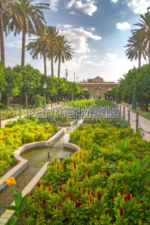 bagh e narajestan citrus garden shiraz