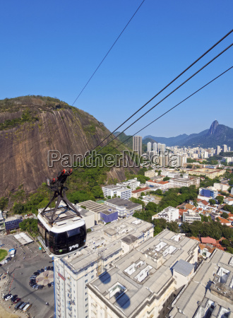 cableway cable car to sugarloaf mountain