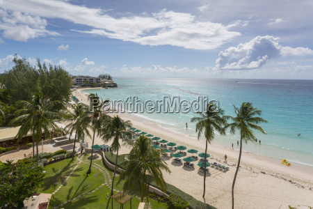 worthing beach christ church barbados west