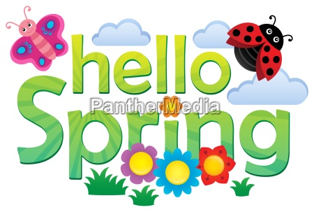 hello spring theme image 3