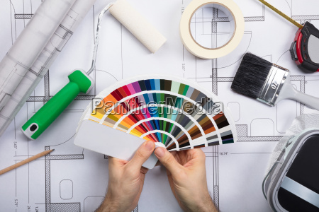 pintor arquitecto posesion tenencia proporciona embellecer