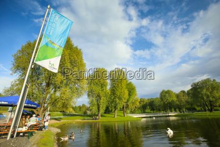 parque olimpico en munich