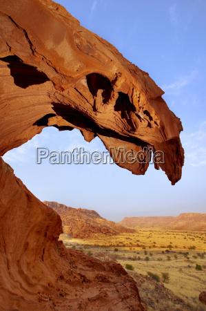 rock formation twyfelfontein world heritage site