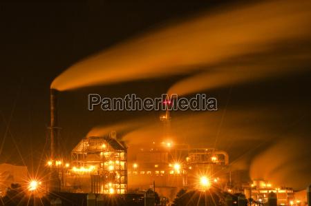 power plant smokestacks fernandina beach florida