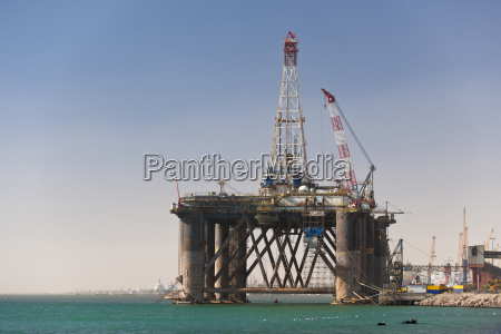 oil platform walvis bay namibia